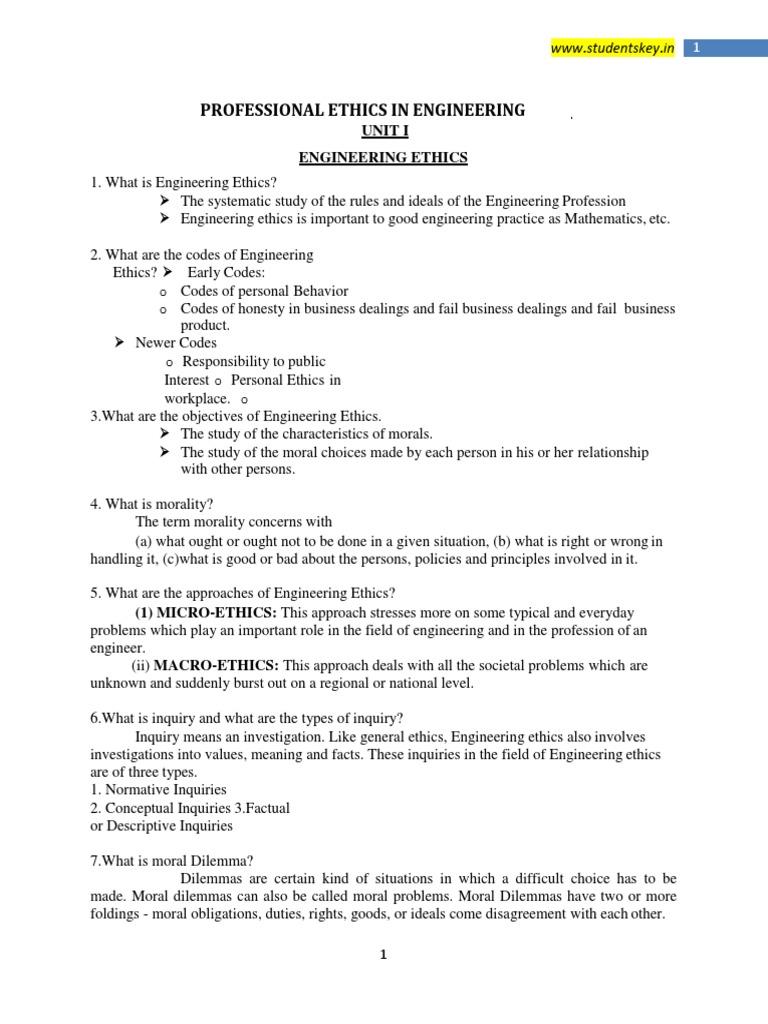 5+Ethics_NoRestriction pdf | Morality | Risk