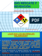 MATERIALES PELIGROSOS RECONOCIMIENTO - IDENTIFICACION TRANSPORTE.ppt.pps