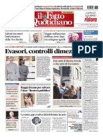 Il Fatto Quotidiano 28 Agosto 2017