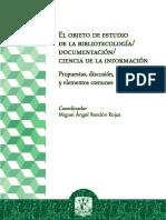 Objeto Estudio Bibliotecologia Documentacion Ciencia Informacion