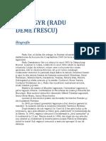 Radu Gyr - Biografie.doc