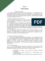 Sikkim PR Act Chapter V