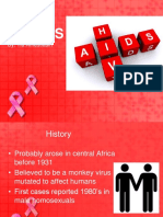 HIV AIDS in ED tia