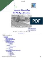 Eléments de Sédimentologie et de Pétrologie sédimentaire