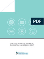 Automotriz Mercosur y Argentina 2025