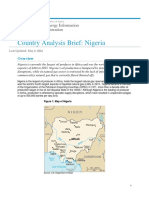 Crude Oil Statistics Nigeria