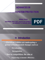 Advances in Power System Protection