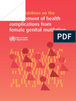 WHO FGM Guidelines