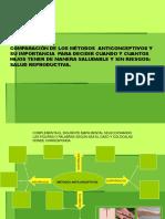 Metodos Anticonceptivos ,Actividades de Rep.sexual y Asexual