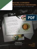 Memorias Del I Congreso Ecuatoriano de Psicologia Comunitaria - Lectura