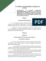 Regulamento Interno Dos Servidores Do Tjsp