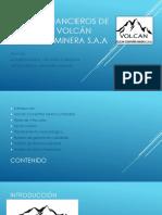 Estados Financieros de La Empresa Volcán Compañía Minera