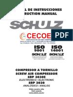 Manual Operación SCHULZ SRP3030