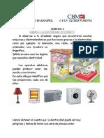 Repaso en Espaã'Ol Unidad 11 Electricity
