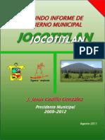Segundo Informe 2009-2012