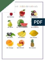 Das Obstbildworterbuch Und Arbeitsblatt Bildworterbucher Kreuzwortratsel 80723