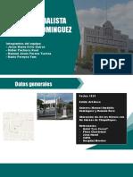 Belisario Dominguez Impresion
