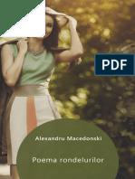 Alexandru Macedonski Poema Rondelurilor