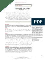 Gigantismo y Acromegalia Genetica.
