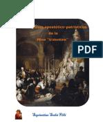 Origenes Apostólico patrísticos de la Misa Tridentina.