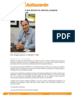 Energías limpias que deriven en ahorros, propone Antonio Astiazarán