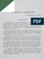 Dirigismo Contratual; Luiz Alberto Da Silva
