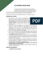 FALLO ALESPEITI Penal- RESUMEN