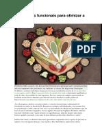 5 Alimentos Funcionais Para Otimizar a Sua Dieta