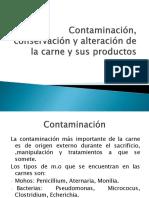 Contaminación, Conservación y Alteración de La Carne