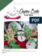 galletas de Navidad Miel