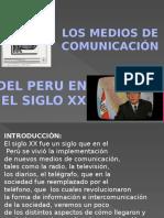 Medios de Comunicacion Siglo XX - Perú