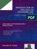 Unidad 5 Lenguajes de Presentacion