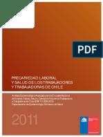 Precariedad Laboral y Salud de Los Trabajadores y Trabajadores en Chile