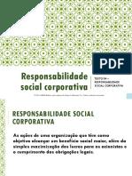 Aula 04 - Responsabilidade Social Corporativa