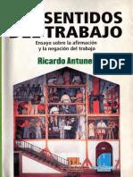 1. Los Sentidos Del Trabajo. Ricardo Antunes