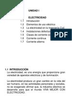 UNIDAD I La Electricidad