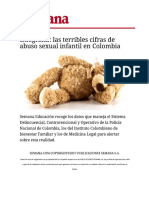 Abuso Sexual en Colombia 2012-2016