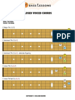 Chords Diagrams Closed