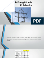 Matriz Energética de El Salvador