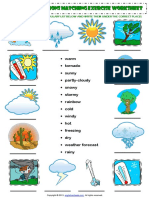 weather conditions vocabulary matching exercise worksheet.pdf
