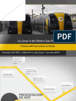 04 La Line 4 Del Metro de Sao Paulo