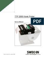 TTP2030 Manual de Servicio