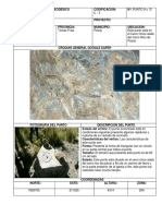 Monografía de Punto Geodesico Subterraneas
