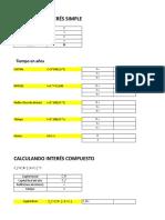 Calculo de Interes_simple & Compuesto