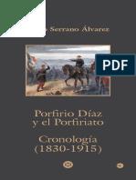 Cronología Porfirio Díaz y El Porfiriato