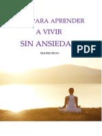 Guía Para Aprender a Vivir Sin Ansiedad-Beatriz Recio