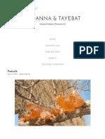 Prebiotik – Al Manna & Tayebat
