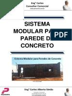 Sistema Modular Para Parede de Concreto