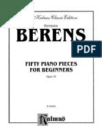 H. Berens Op 70_Cincuenta piezas para principiantes.pdf