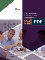 Brochure Maestria Salud Mental - UPCH